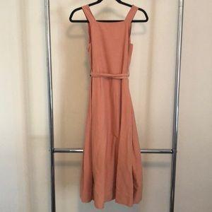 Apron Tie-Waist Dress